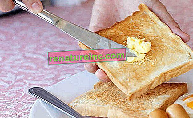 Margarina o mantequilla: ¿existe una opción saludable?