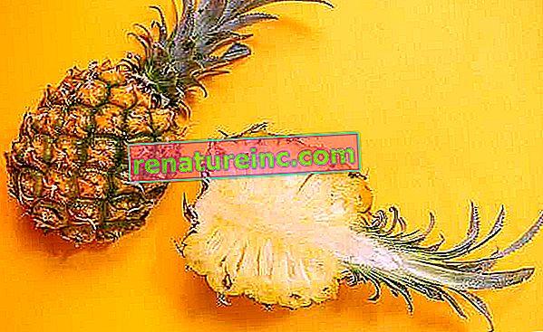 De mange sundhedsmæssige fordele ved ananas