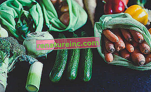 Cómo almacenar verduras en el refrigerador.
