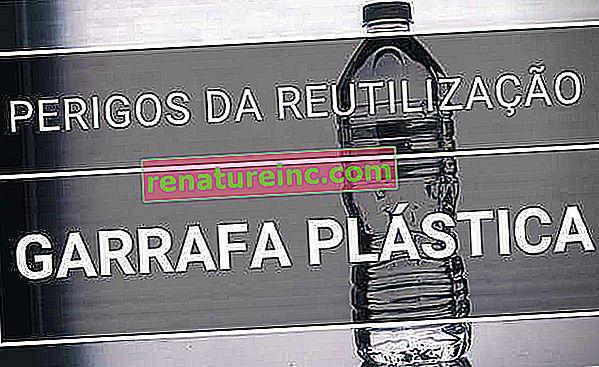 Bouteille d'eau en plastique: dangers de réutilisation