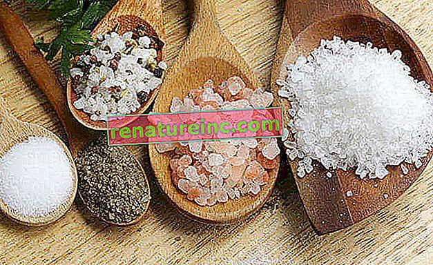 Découvrez les différents types de sel disponibles pour préparer les aliments