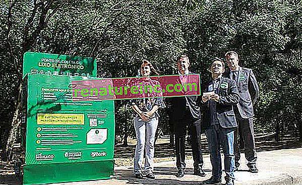 La ville de São Paulo remporte le premier point public de collecte des déchets électroniques