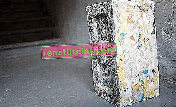 RePlast-blokke, der er behandlet med enhver form for plast, kan være fremtiden for bæredygtig konstruktion