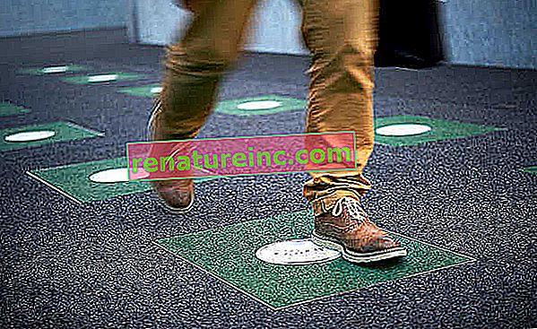 פייבגן: הרצפה שהופכת את השפעת המדרגה לאנרגיה חשמלית