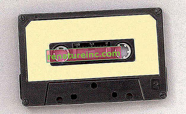 Que faire des cassettes?