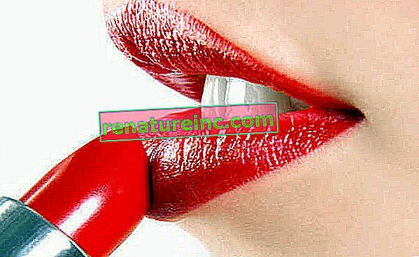 Ceux qui utilisent du rouge à lèvres, du brillant ou du baume à lèvres peuvent ingérer des métaux lourds, petit à petit