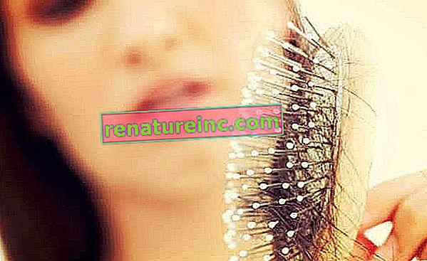 Осем причини за загуба на коса