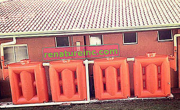 תכנון בור מים: מגורים או בית משותף