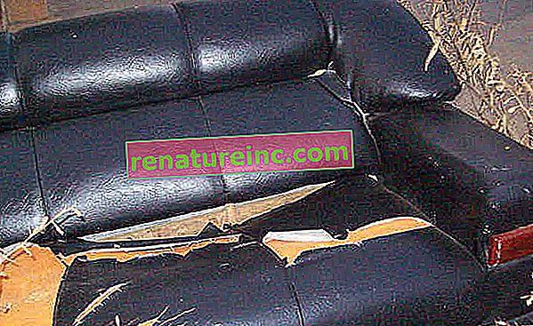 ¿De qué está hecho un sofá? ¿Se puede reciclar?