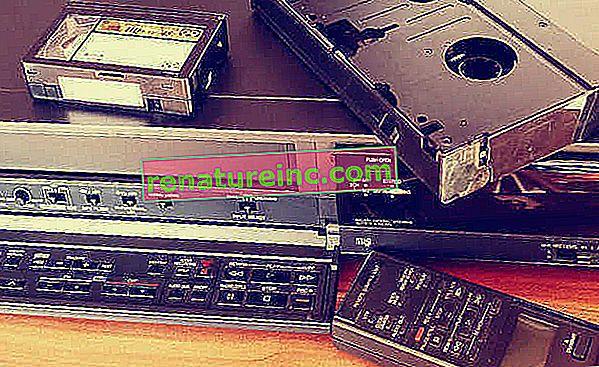 Hvad skal jeg gøre med VCR?