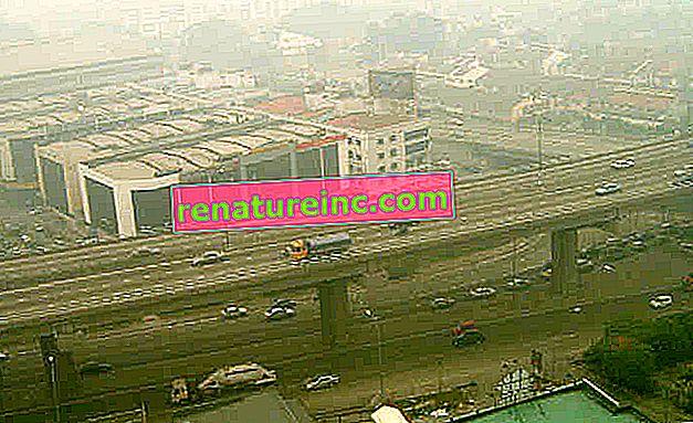 Megamiasta: niekontrolowany wzrost przyczynia się do zwiększonego zanieczyszczenia