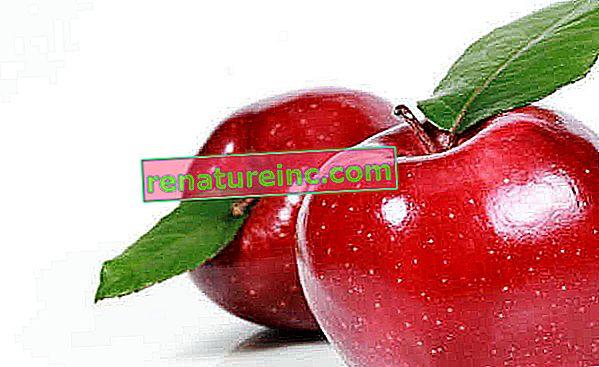 Naturlig æbleskrub giver huden fugt og fasthed