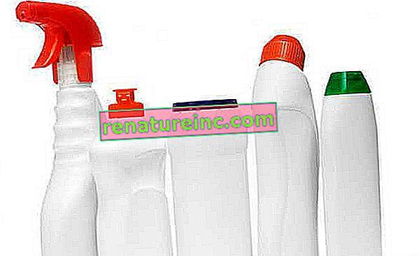 Comment se débarrasser des bouteilles de détergents et de produits de nettoyage?