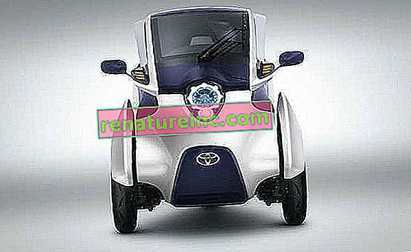 Hibridna med avtomobilom in motociklom je Toyota lansirala i-Road