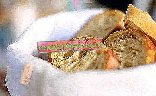 Vrećica za kruh koja sprječava plijesan: kako napraviti