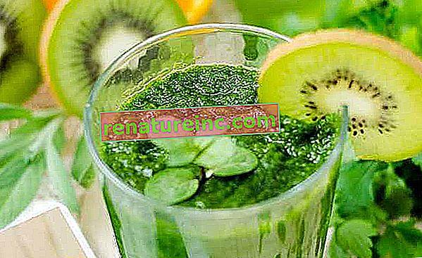 Forfriskende og detox: opskrifter til smoothie og grøn juice