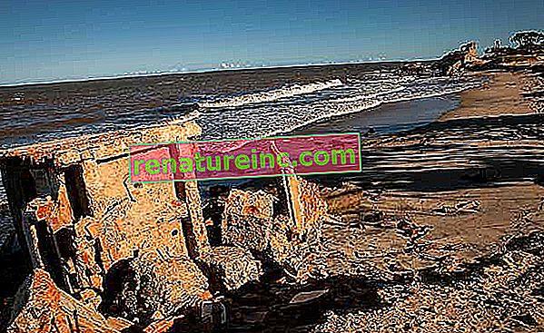 Mød Atafona, et af de første ofre for marine erosion i Brasilien