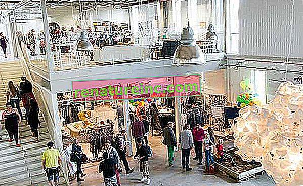Découvrez le premier centre commercial recyclé au monde