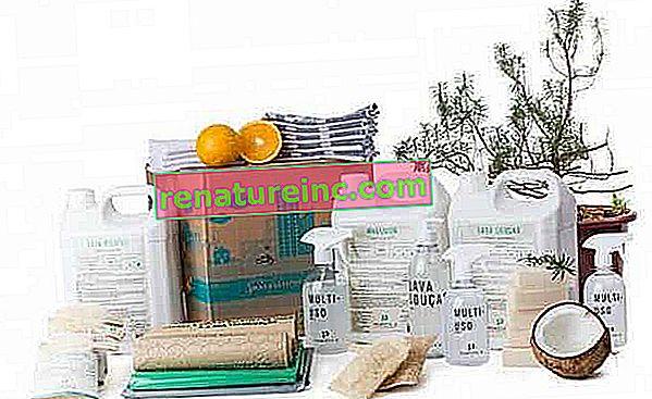 Ecobox tvrtke Positiv.A: kutija s učinkovitim proizvodima za čišćenje za vaš dom i smanjenim utjecajem na okoliš