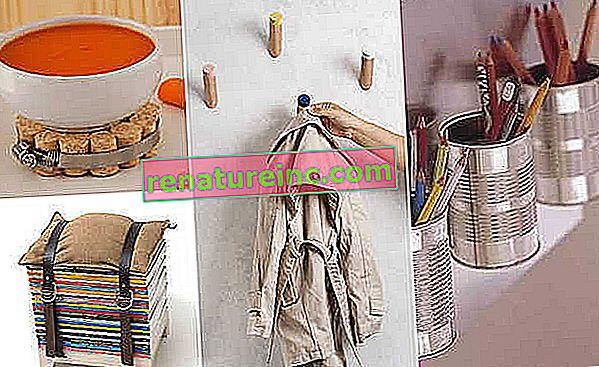 Seis consejos para hacer pequeñas decoraciones en tu hogar con materiales