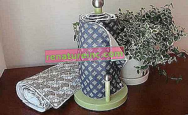 Que utiliser à la place des serviettes en papier?
