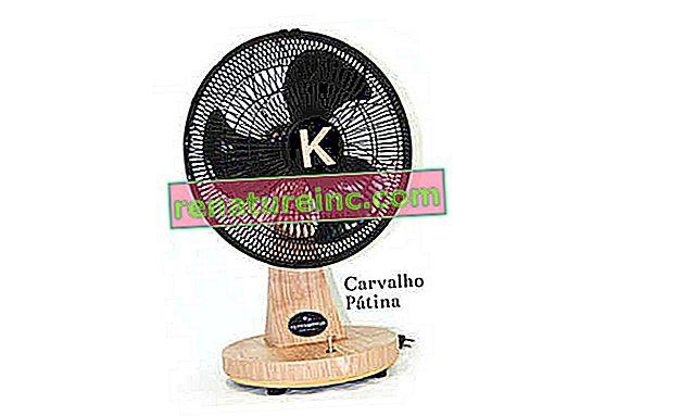 Вентилатор, изработен от рециклирана дървесина, е пуснат на бразилския пазар