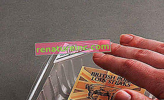 Stempel på emballasjen viser matens faktiske holdbarhet
