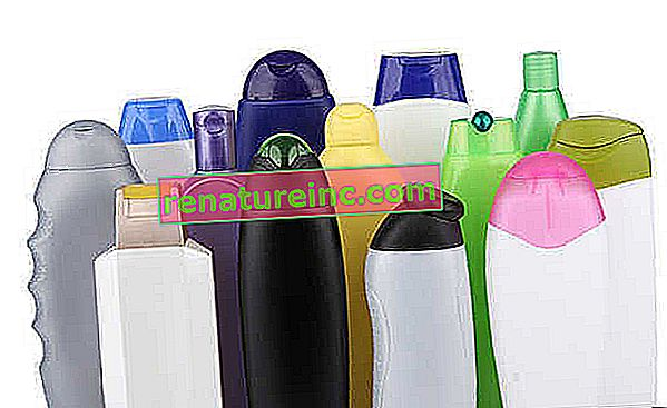 Er sjampo og hygieneflasker resirkulerbare?