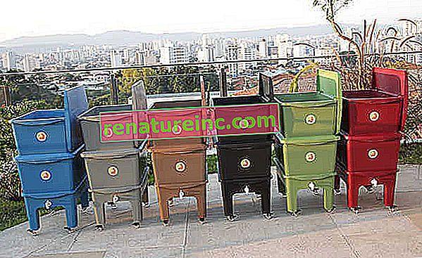 El compostador Humi agrega estilo y practicidad