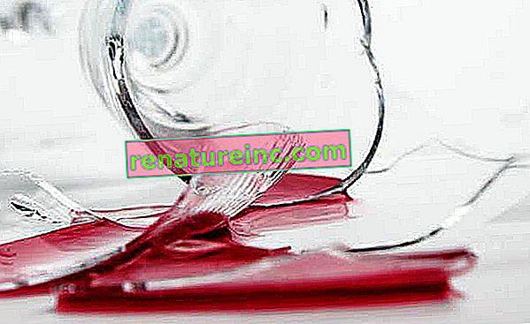 Que faire des ustensiles de cuisine en verre cassés ou usés?