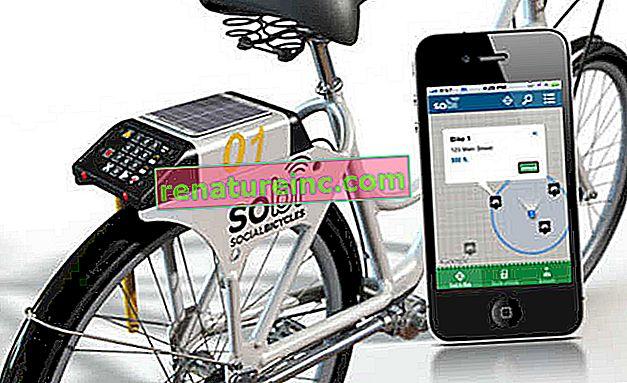 Le système de partage de vélos vous permet de suivre et de déverrouiller les vélos avec votre téléphone