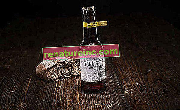 Наградената с награди бира Toast Pale Ale се прави с остатъци от хляб, които биха отишли на вятъра