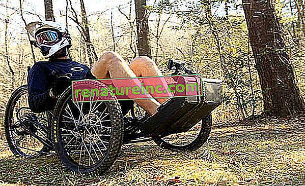 Konstrukcja roweru terenowego dostosowana jest do wszystkich typów osób niepełnosprawnych