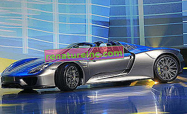 Новият хибриден автомобил на Porsche съчетава красота, скорост и устойчивост