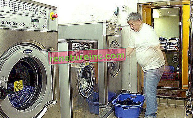 Za varčevanje z energijo perite oblačila s hladno vodo
