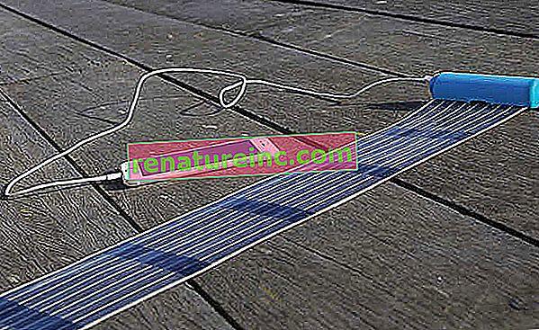 HeLi-on es el cargador solar retráctil que cabe en tu bolsillo