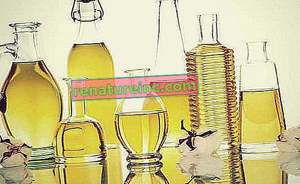 Vegetabilske olier: kend fordelene og de kosmetiske egenskaber