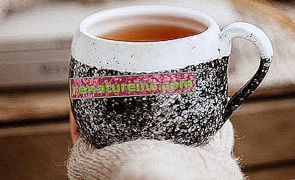 Influenza te i let og hjemmelavet stil