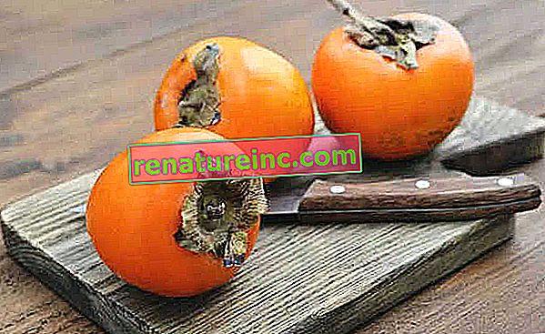 Seks fordele ved persimmon