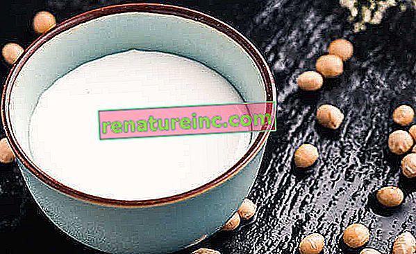 Má sójové mlieko výhody alebo je zlé?