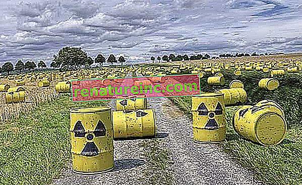 Kaj je radioaktivno onesnaženje?