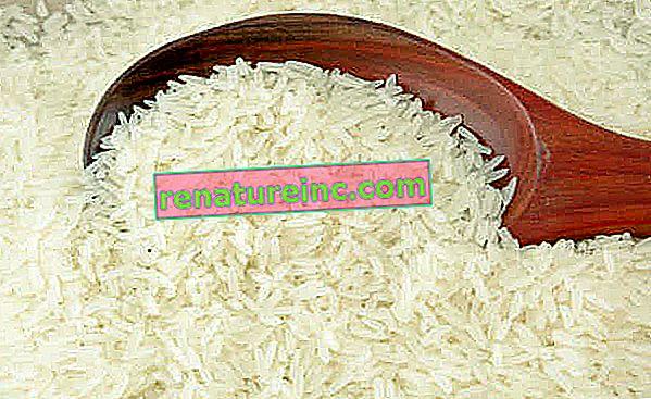 Aceite de arroz: bueno para el cabello, la piel y la salud en general.