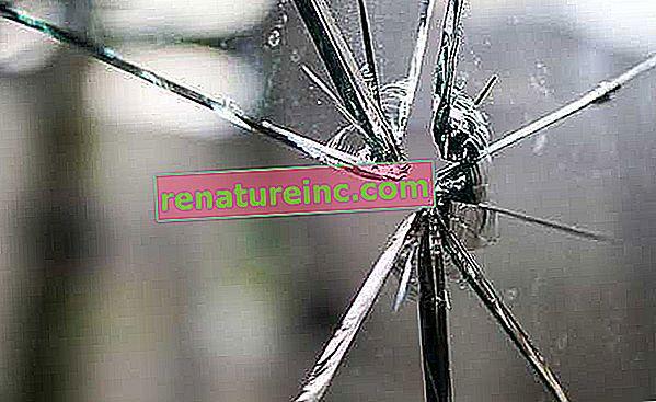 Как да се изхвърля счупеното стъкло?