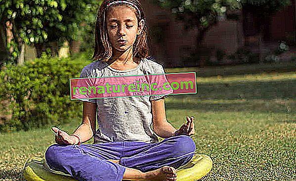 Meditación infantil: cinco técnicas para niños