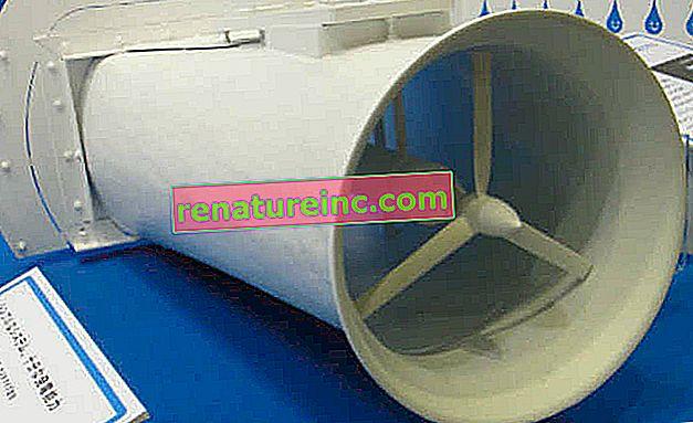 Компактен хидроенергиен генератор може да се използва в потоци и реки